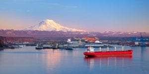 Tacoma WA port