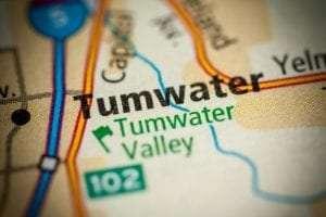 Tumwater WA Map