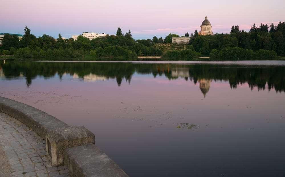 Capital Lake in Olympia, WA for Water Utilities