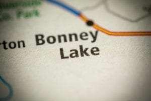 Bonney Lake, WA on map